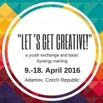Let's Get Creative – Youth Exchange in Czech Republic