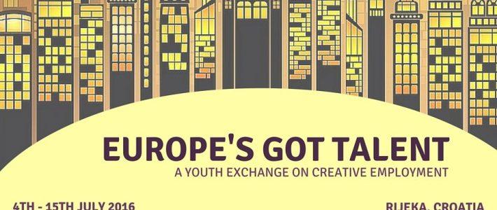 Europe's Got Talent – Training course in Croatia
