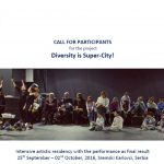 Diversity is Super-City! – Artistic residency in Serbia