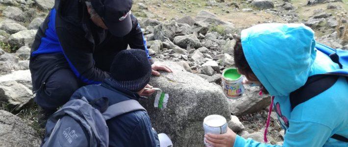 Marking tourist pathway – follow-up activity, Bulgaria