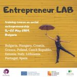 Entrepreneur LAB – Training course in Bulgaria