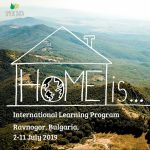 Home Is… – Youth learning program in Bulgaria