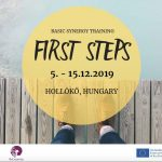 First Steps – Training course in Hungary