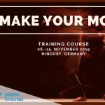 Make Your Move – Training course in Germany