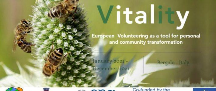 Vitality – volunteering opportunity in Italy