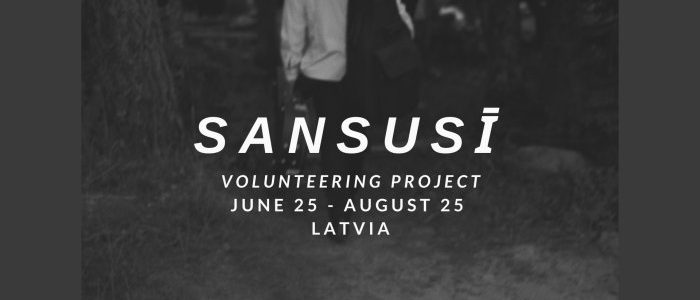 Volunteering opportunity in Latvia