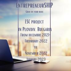 EnterpreneurSHIP-Grab on your wave – vonlunteering project in Bulgaria