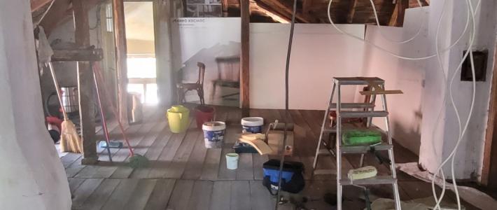 Attic project – New office of Smokinya Foundation