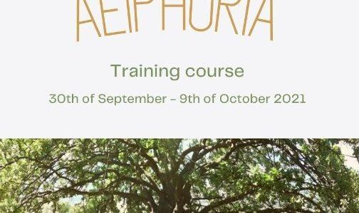 Aeiphoria – Training course in Greece