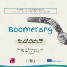 Boomerang – Youth Exchange in Greece
