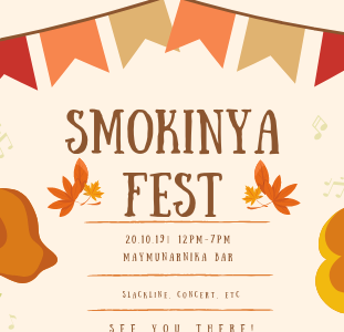 Smokinya FEST – with love, care and cooperation